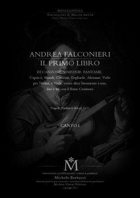 Product picture Andrea Falconieri - IL PRIMO LIBRO - complete SEPARATE PARTS