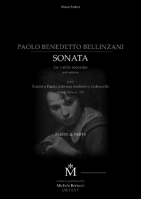 Product picture Bellinzani sonata XII - Follia for recorder and continuo