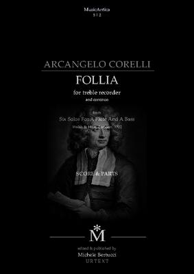 Product picture Corelli, Follia opV for recorder and continuo