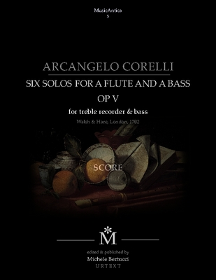 Product picture Corelli - Six solos for a flute and a bass with the Follia